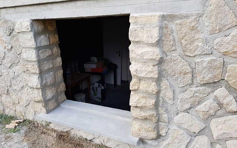création fenêtre dans mur porteur