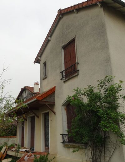 démolition reconstruction agrandissement maison 1