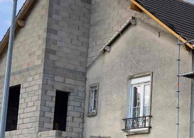 Démolition, reconstruction et agrandissement maison