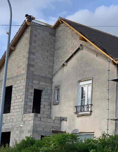démolition reconstruction agrandissement maison 8