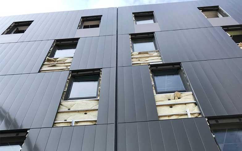 isolation façade CHU 3