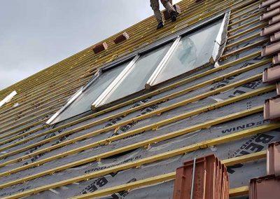 Réparation de toiture et isolation