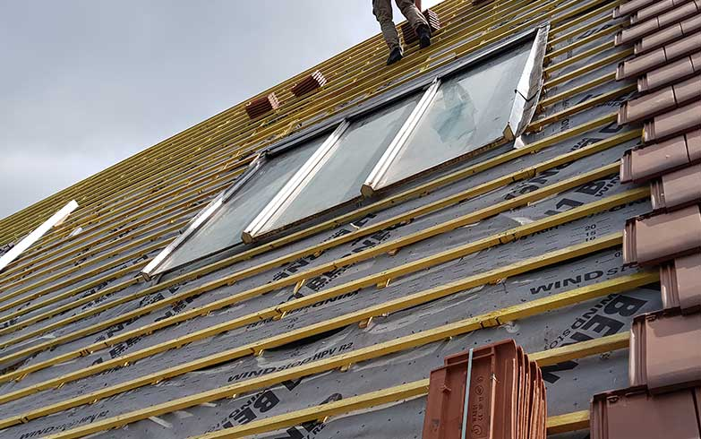 isolation toiture réparation