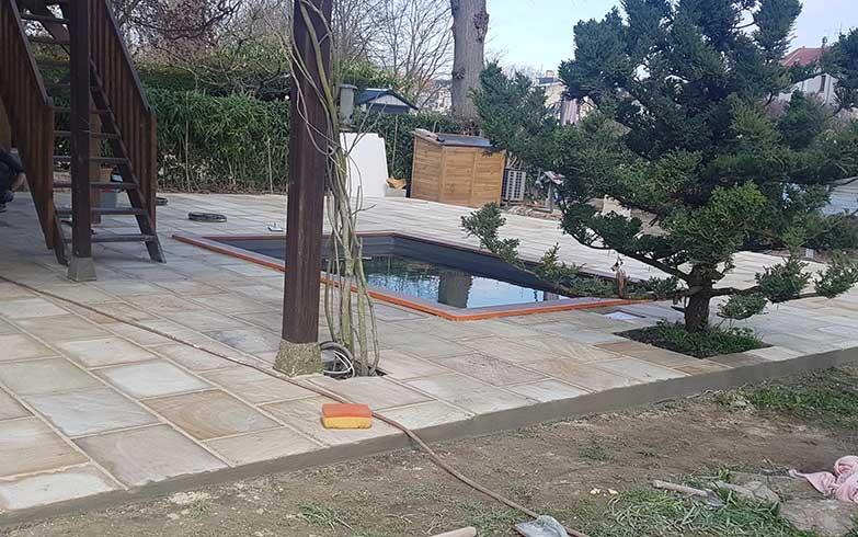 piscine terrassement 95