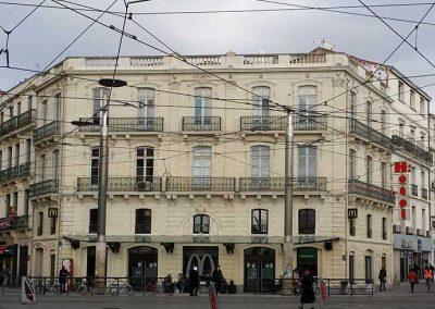 Ravalement façade immeuble