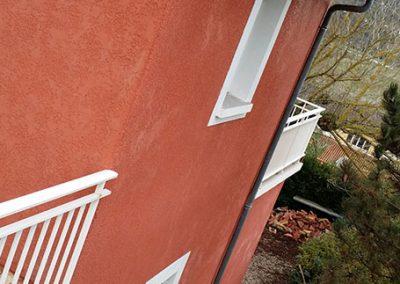 Traitement et ravalement de façade