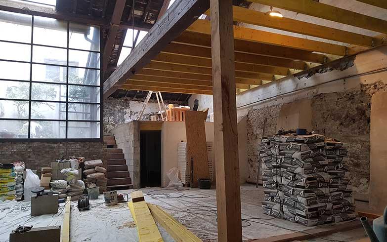 rénovation atelier architecte 5