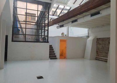 Rénovation complète atelier d'architecte