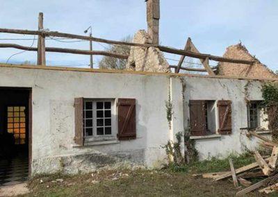 Rénovation complète charpente et toiture