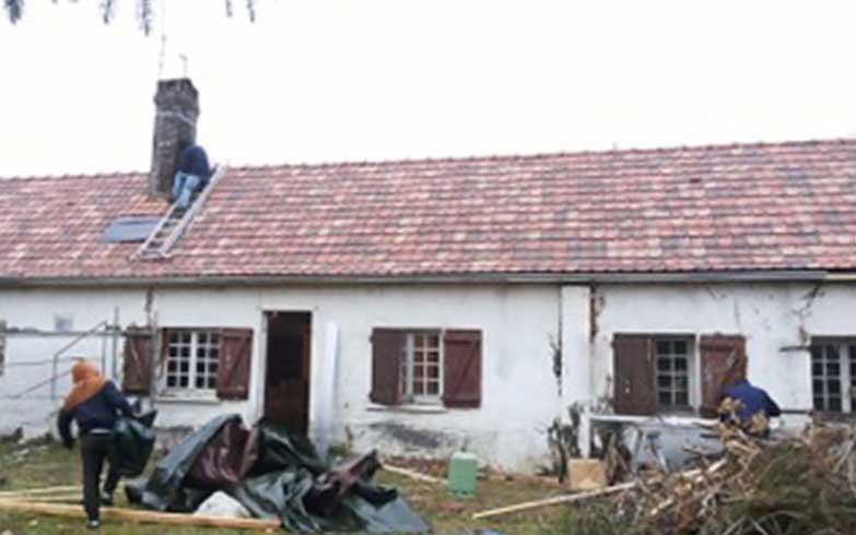 rénovation complète toiture charpente