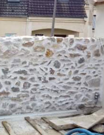 Rénovation façade en pierre