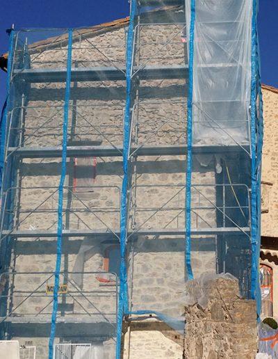 travaux malfaçon maison en pierre 1